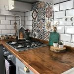 55 Fantastic Farmhouse Kitchen Backsplash Design Ideas And Decor (25)