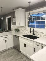 55 Fantastic Farmhouse Kitchen Backsplash Design Ideas And Decor (3)