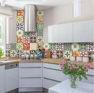 55 Fantastic Farmhouse Kitchen Backsplash Design Ideas And Decor (50)