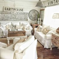 55 Incredible Farmhouse Living Room Sofa Design Ideas And Decor (37)