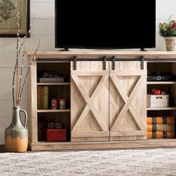 60 Beautiful Farmhouse TV Stand Design Ideas And Decor (51)