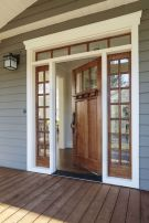 70 Beautiful Farmhouse Front Door Design Ideas And Decor (32)