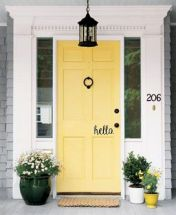 70 Beautiful Farmhouse Front Door Design Ideas And Decor (44)
