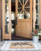 70 Beautiful Farmhouse Front Door Design Ideas And Decor (50)