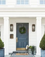 70 Beautiful Farmhouse Front Door Design Ideas And Decor (62)