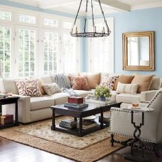 70 Best Farmhouse Living Room Decor Ideas And Remodel (11)