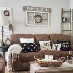 70 Best Farmhouse Living Room Decor Ideas And Remodel (20)