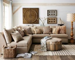 70 Best Farmhouse Living Room Decor Ideas And Remodel (29)