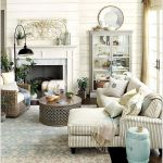 70 Best Farmhouse Living Room Decor Ideas And Remodel (47)