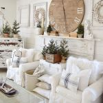 70 Best Farmhouse Living Room Decor Ideas And Remodel (63)
