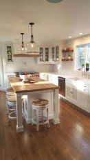 77 Best Farmhouse Kitchen Decor Ideas And Remodel (21)
