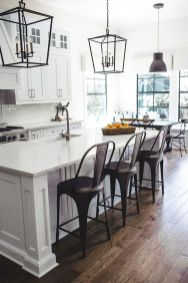 77 Best Farmhouse Kitchen Decor Ideas And Remodel (46)