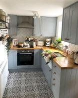 77 Best Farmhouse Kitchen Decor Ideas And Remodel (60)