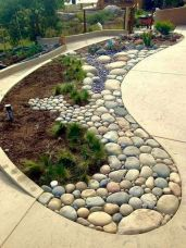 70 Magical Side Yard And Backyard Gravel Garden Design Ideas (3)