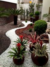 70 Magical Side Yard And Backyard Gravel Garden Design Ideas (47)