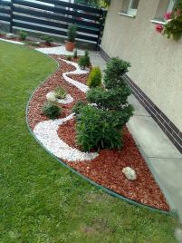 70 Magical Side Yard And Backyard Gravel Garden Design Ideas (5)