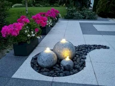70 Magical Side Yard And Backyard Gravel Garden Design Ideas (50)