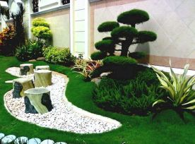 70 Magical Side Yard And Backyard Gravel Garden Design Ideas (61)
