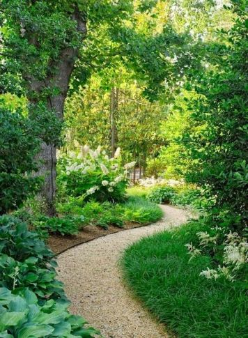 70 Magical Side Yard And Backyard Gravel Garden Design Ideas (63)