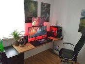 45 Fantastic Computer Gaming Room Decor Ideas and Design (16)