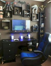45 Fantastic Computer Gaming Room Decor Ideas and Design (21)