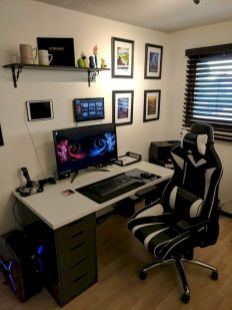 45 Fantastic Computer Gaming Room Decor Ideas and Design (34)