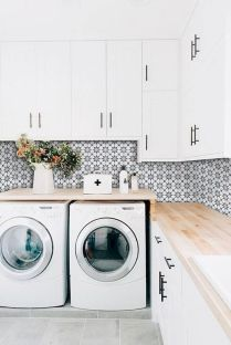 55 Gorgeous Laundry Room Design Ideas and Decorations (20)