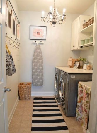 55 Gorgeous Laundry Room Design Ideas and Decorations (25)