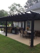 55 Wonderful Pergola Patio Design Ideas (8)