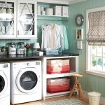 75 Awesome Laundry Room Storage Decor Ideas (62)