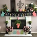 37 Beautiful Easter Fireplace Mantle Ideas (21)