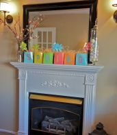 37 Beautiful Easter Fireplace Mantle Ideas (24)