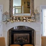 37 Beautiful Easter Fireplace Mantle Ideas (29)