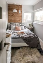 47 Wonderful Small Apartment Bedroom Design Ideas and Decor (4)