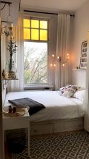 47 Wonderful Small Apartment Bedroom Design Ideas and Decor (42)