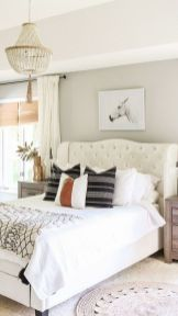 57 Stunning Modern Farmhouse Bedroom Design Ideas and Decor (105)
