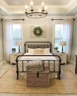 57 Stunning Modern Farmhouse Bedroom Design Ideas and Decor (60)