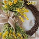 62 Best Spring Wreaths Front Door Ideas (61)