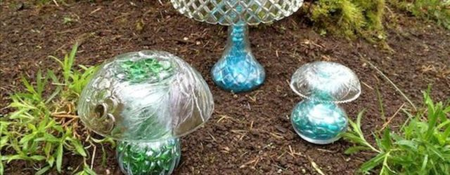 Garden Art Mushrooms Design Ideas For Summer (49)