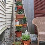 Ladder In The Garden Design Ideas and Remodel (15)