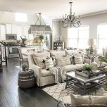 105 Best Farmhouse Living Room Decor Ideas (100)