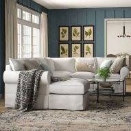 105 Best Farmhouse Living Room Decor Ideas (70)