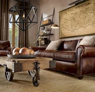 72 Industrial Living Room Decor Ideas (34)