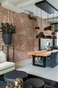 72 Industrial Living Room Decor Ideas (54)