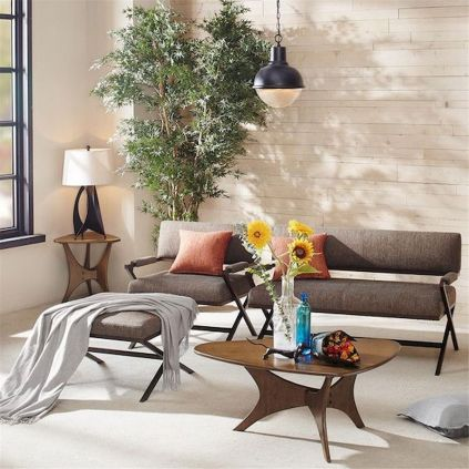 72 Industrial Living Room Decor Ideas (70)