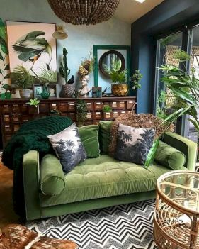 73 Eclectic Living Room Decor Ideas (14)