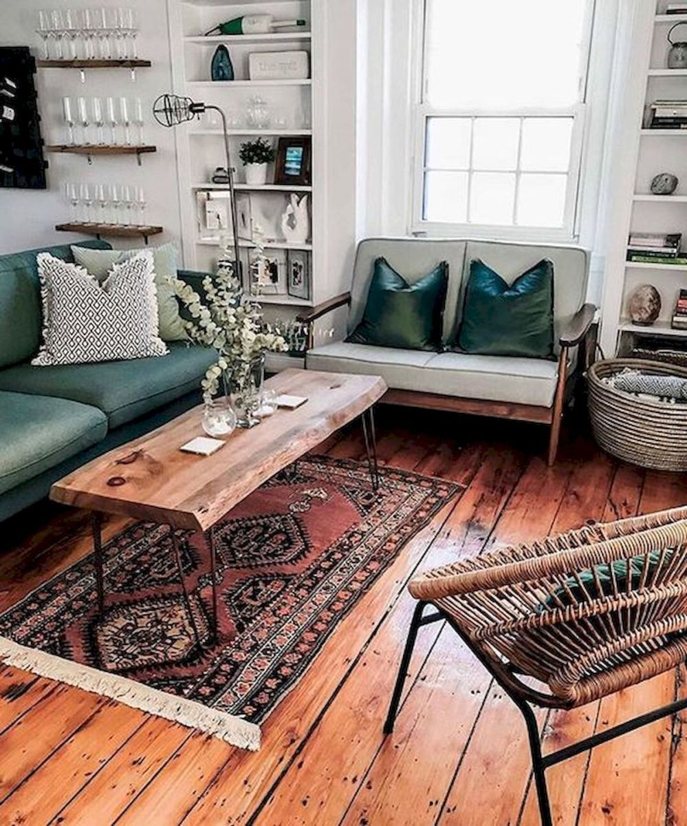 73 Eclectic Living Room Decor Ideas (42)