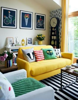 73 Eclectic Living Room Decor Ideas (70)