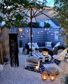 30 Best Small Backyard Patio Ideas (21)