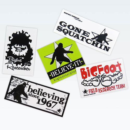 bigfoot stickers